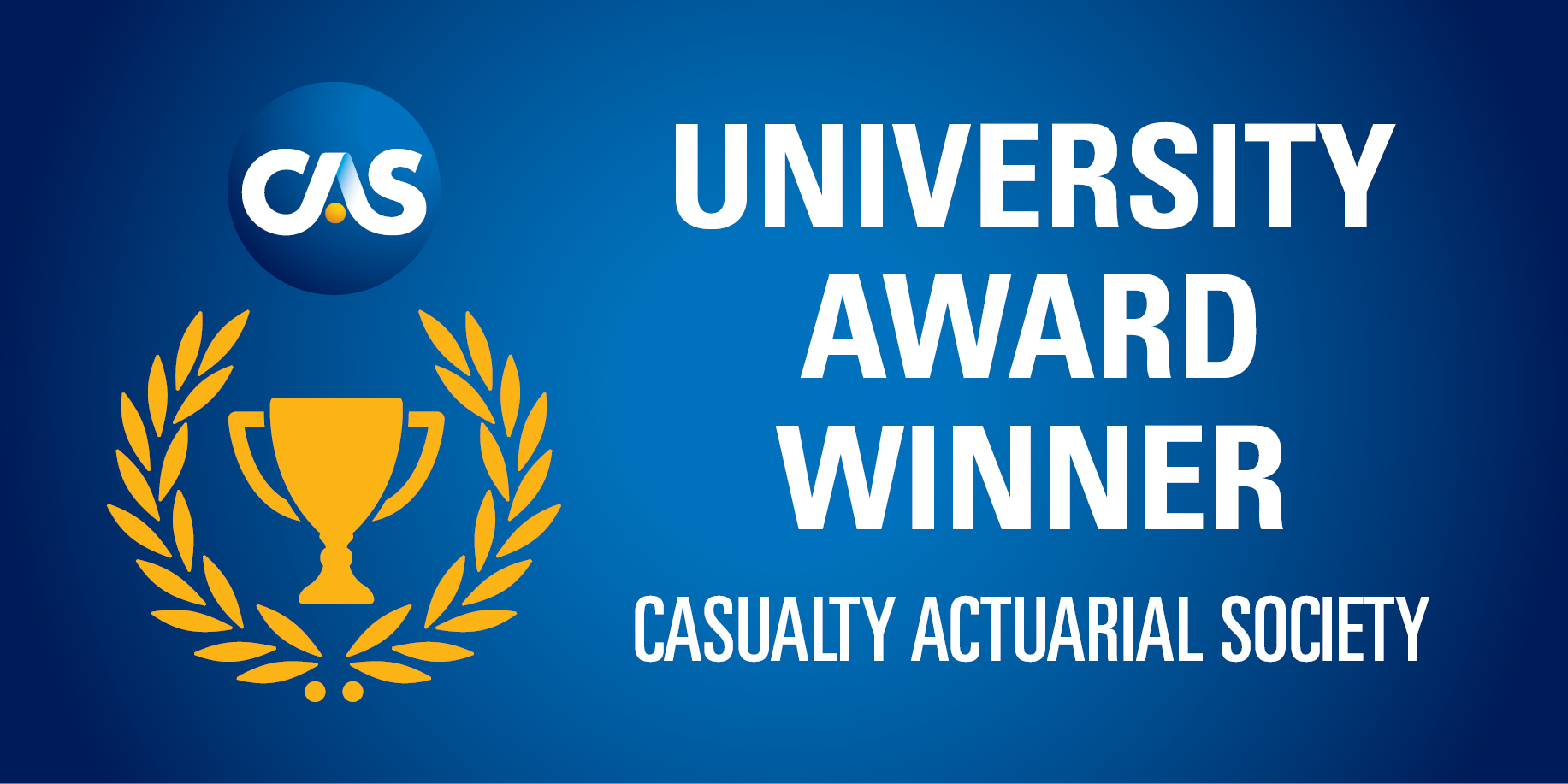 CAS University Award Winner